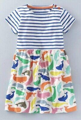 Ex Mini Boden Short Sleeve Hotchpotch Dresses  2 3 4 5 6 7 8 9 10 11 12Yrs