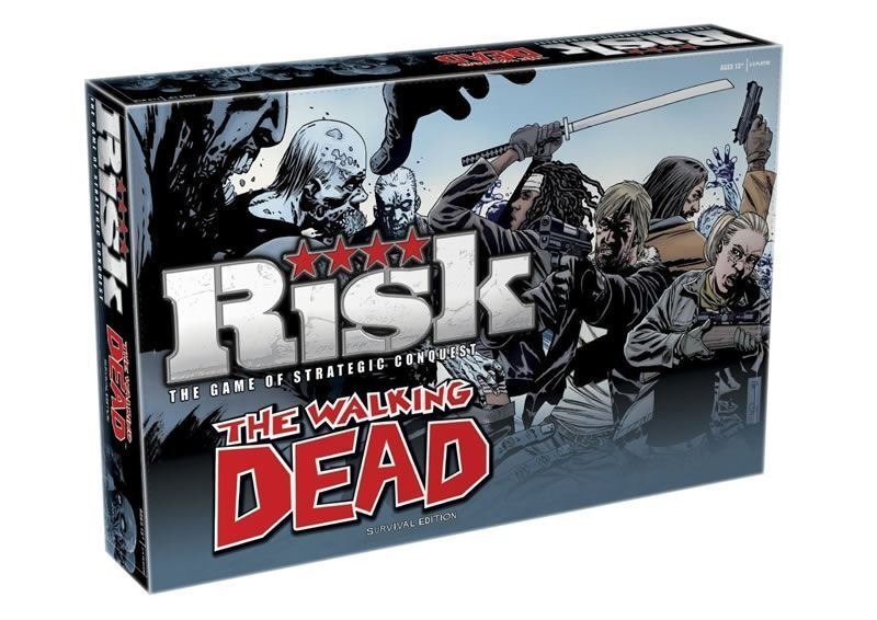 The The The Walking Dead Risk Board game Survival Edition 2 to 5 Players 93d1b2