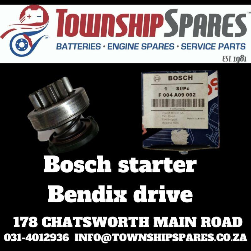 Bosch starter bendix drives