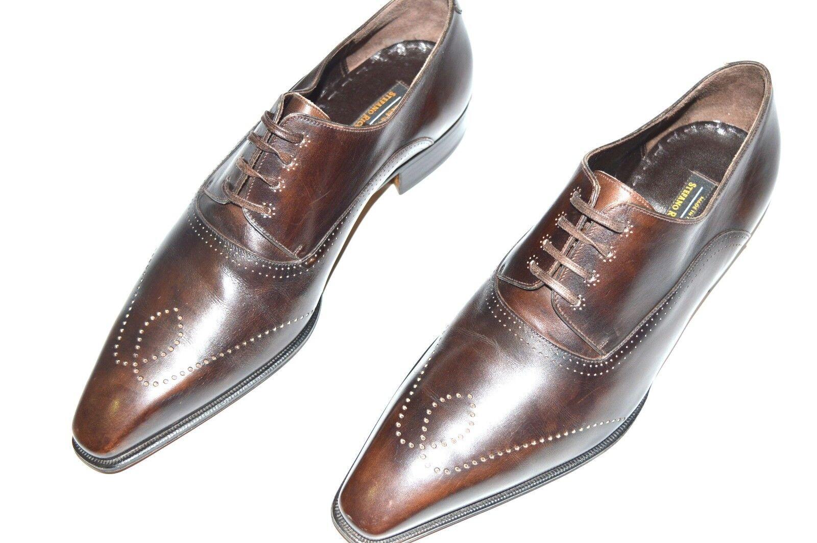 Nuevo STEFANO RICCI Zapatos Talla nos 9 (COD S217A)
