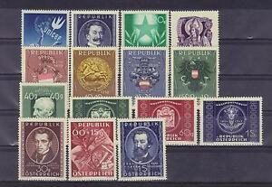 Österreich Jahrgang 1949 ohne Glückliche Kindheit  postfrisch