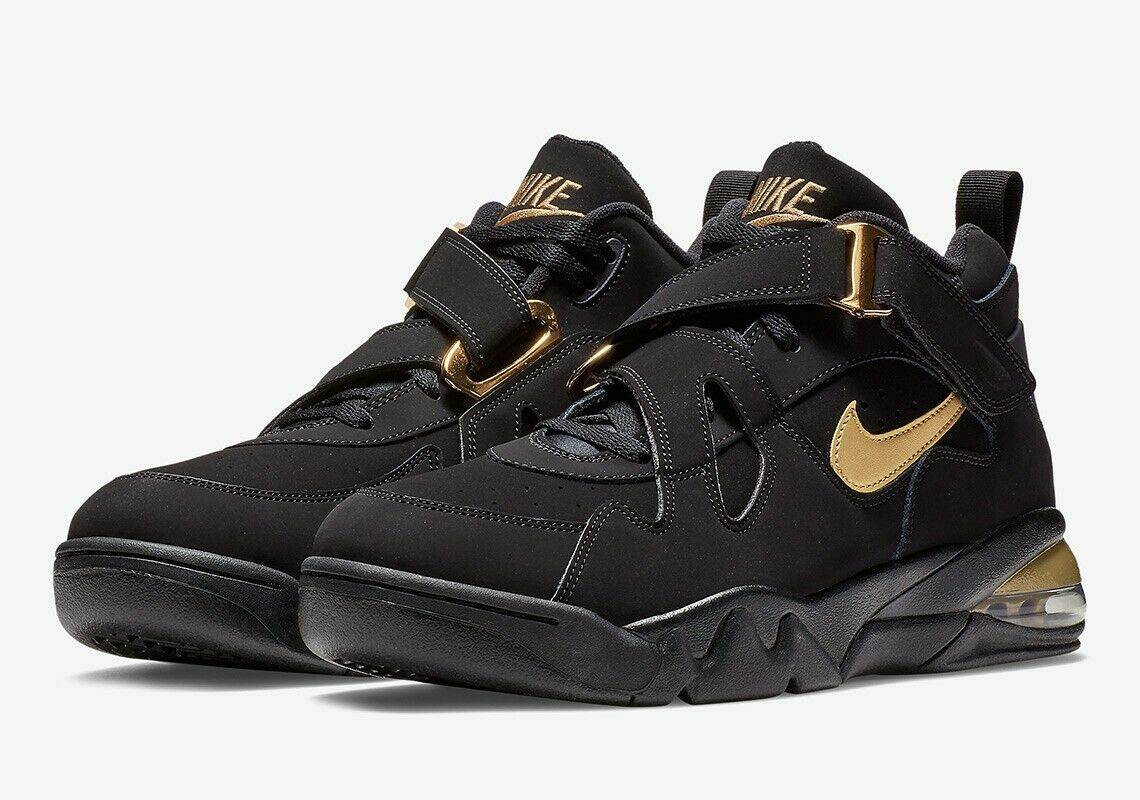 New  in Box Nike Air Force Max CB nero and oro Tutte le misure 10,10.5   Nuova lista