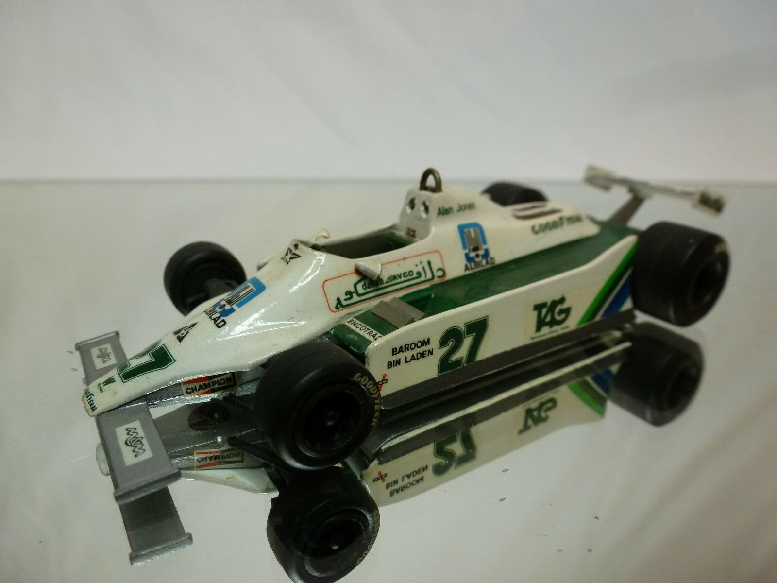 WESTERN MODELS  KIT (built) - WILLIAMS FW007   A.JONES  1 43 NICE CONDITION