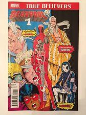 New Mutants #98 True Believers #1 edition Deadpool