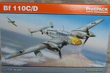 Eduard 1/72 EDK7081 Messerschmitt Bf110C/D Profipack