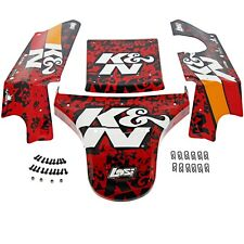 RED & BLACK LICENSED K&N BODY PANELS, SCREWS, & CLIPS - Losi 1/5 Desert Buggy XL