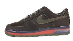 Details about DS MEN NIKE AIR FORCE 1 SUPREME MAX AIR '07 BERLIN DARK ARMY 316666 331 SZ 14