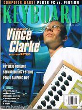 1994 VINCE CLARK Serge Modular E-MU PROTEUS FX, Yamaha QT8, Keyboard Magazine