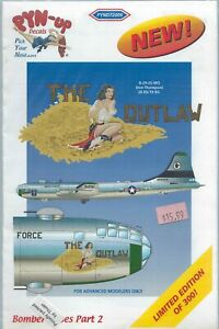 B-29 28 BS/19 BG The Outlaw  1/72 pyn-up 72006