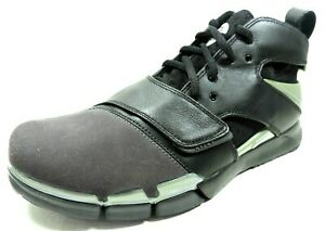 Nike-Mens-Shoes-Huarache-Tr-07-Basketball-315865-Leather-Black-White-Blue