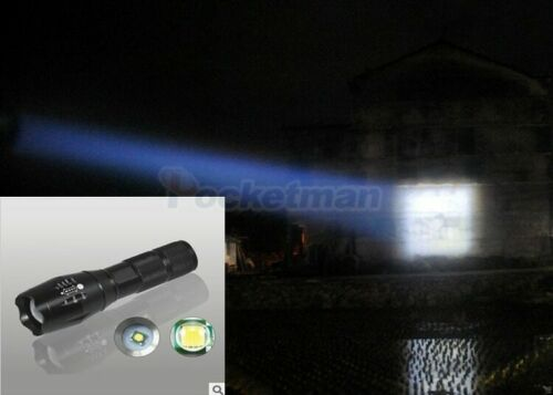 35000LM LED Flashlight T6 Tactical Torch Zoomable Lantern Outdoor Camping Lamp