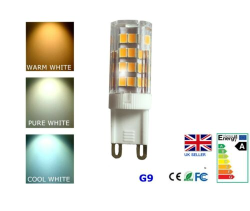 G9 3.5W warm pure and cool LED Bulb Dimmable 315LM Replace 30W Halogen Energy A+