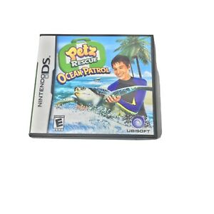 Petz-Rescue-Ocean-Patrol-Nintendo-DS-Game-Complete-E-for-Everyone