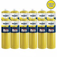 141 Oz Bernzomatic Pre Filled Map Pro Gas Torch Style Cylinder 12 Per Case
