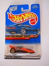 HOT WHEELS CAR-TOON FRIENDS XT-3 2/4 ROCKEY BULLWINKLE LOGO