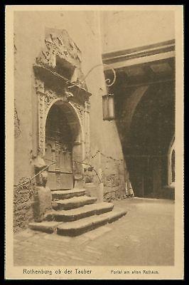 Deutschland Ansichtskarten Ak Rothenburg Ob Der Tauber Alte Ansichtskarte Foto-ak Postcard Cx32