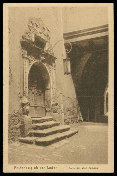 Motive Ak Rothenburg Ob Der Tauber Alte Ansichtskarte Foto-ak Postcard Cx39
