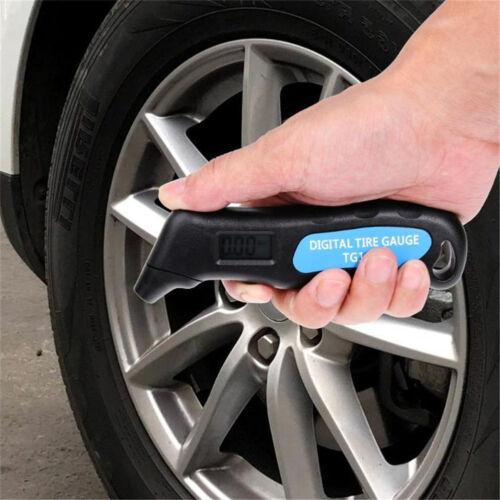 LCD Digital Auto Car Truck Wheel Air Pressure Gauge Meter Tyre Test Accurate