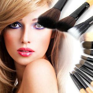 New-12PCS-Pro-Makeup-Brush-Set-Cosmetic-Tool-Leopard-Bag-Beauty-Brushes-QK