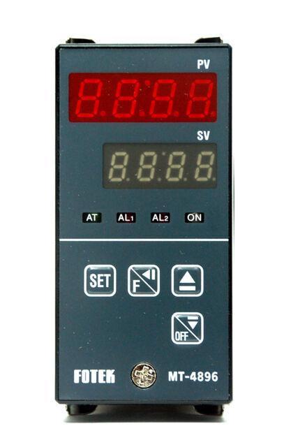 1x Temperature Controller TC-4896-DD-R3 48x96mm K sensor Relay out Fotek TC-4896