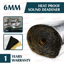 1M x 0.3M Car Underfelt Noisy Control Mat 6MM Sound Insulation Deadener Shield