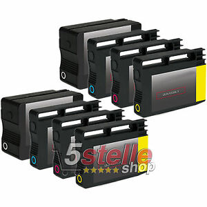 KIT-8-CARTUCCE-932-933-XL-PER-STAMPANTE-HP-OFFICEJET-7612-e-All-in-One