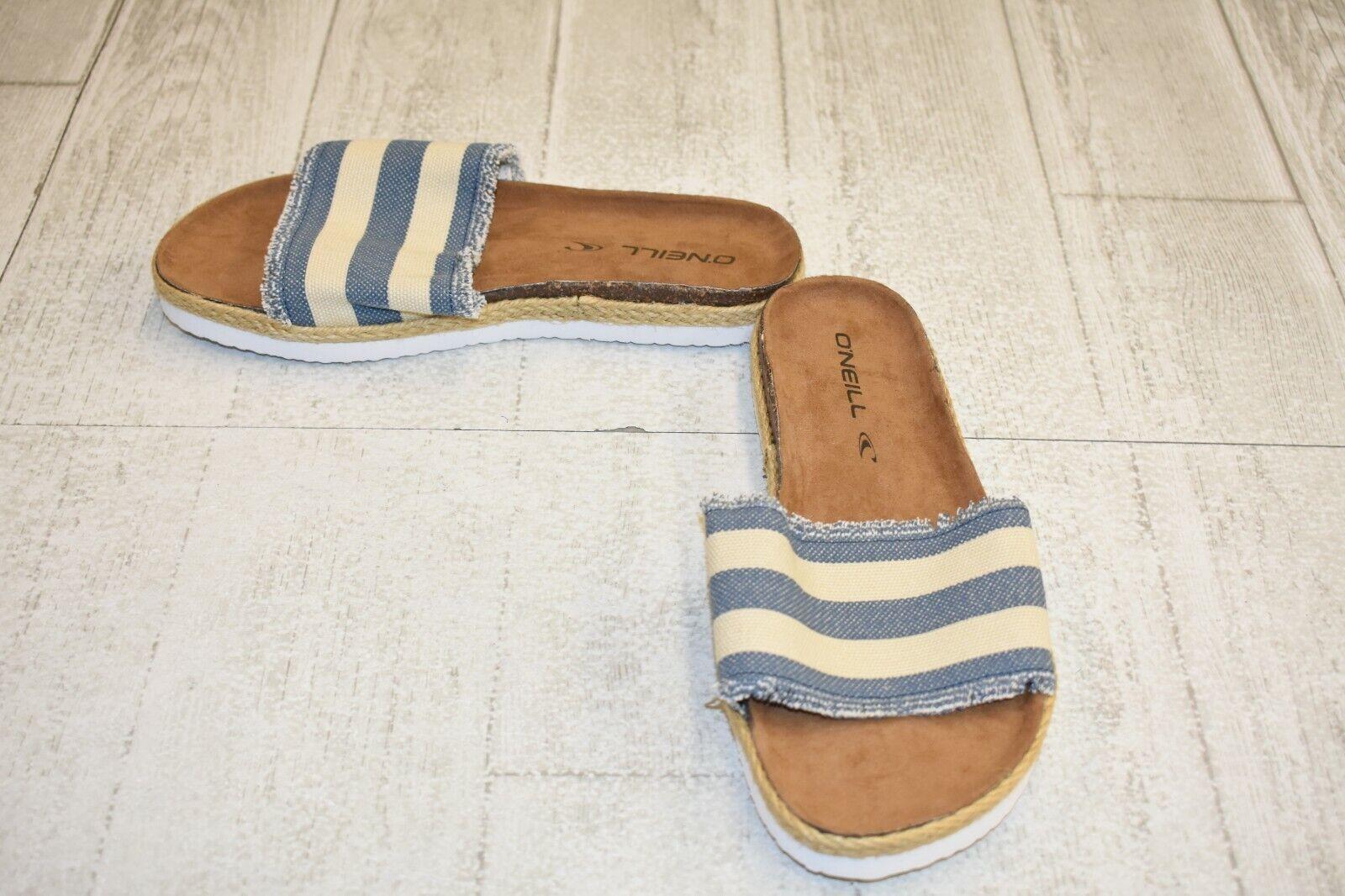 O'Neill Tori Sandal - Women's Size 6M, bluee Cream