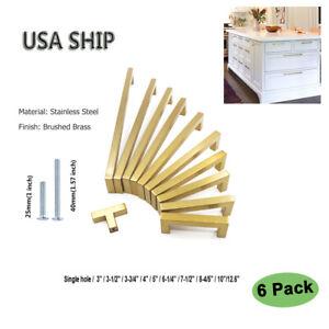 Gold-Kitchen-Cabinet-Handles-6-Pack-Brass-Drawer-Pulls-Modern-Cabinet-Hardware