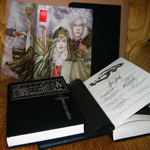 WAREHOUSE-FIND-THE-DREAMTHIEF-039-S-DAUGHTER-Ltd-Ed-Signed-by-9-M-Moorcock