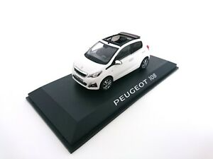 Peugeot-108-Cabriolet-2014-1-43-NOREV-VOITURE-DIECAST-DEALER-PACK-MODEL-471800