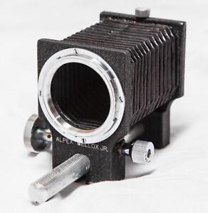 Vintage-Alpex-bellox-Jr-Fuelle-Para-Camara-De-Pelicula-Con-Caja-tthc