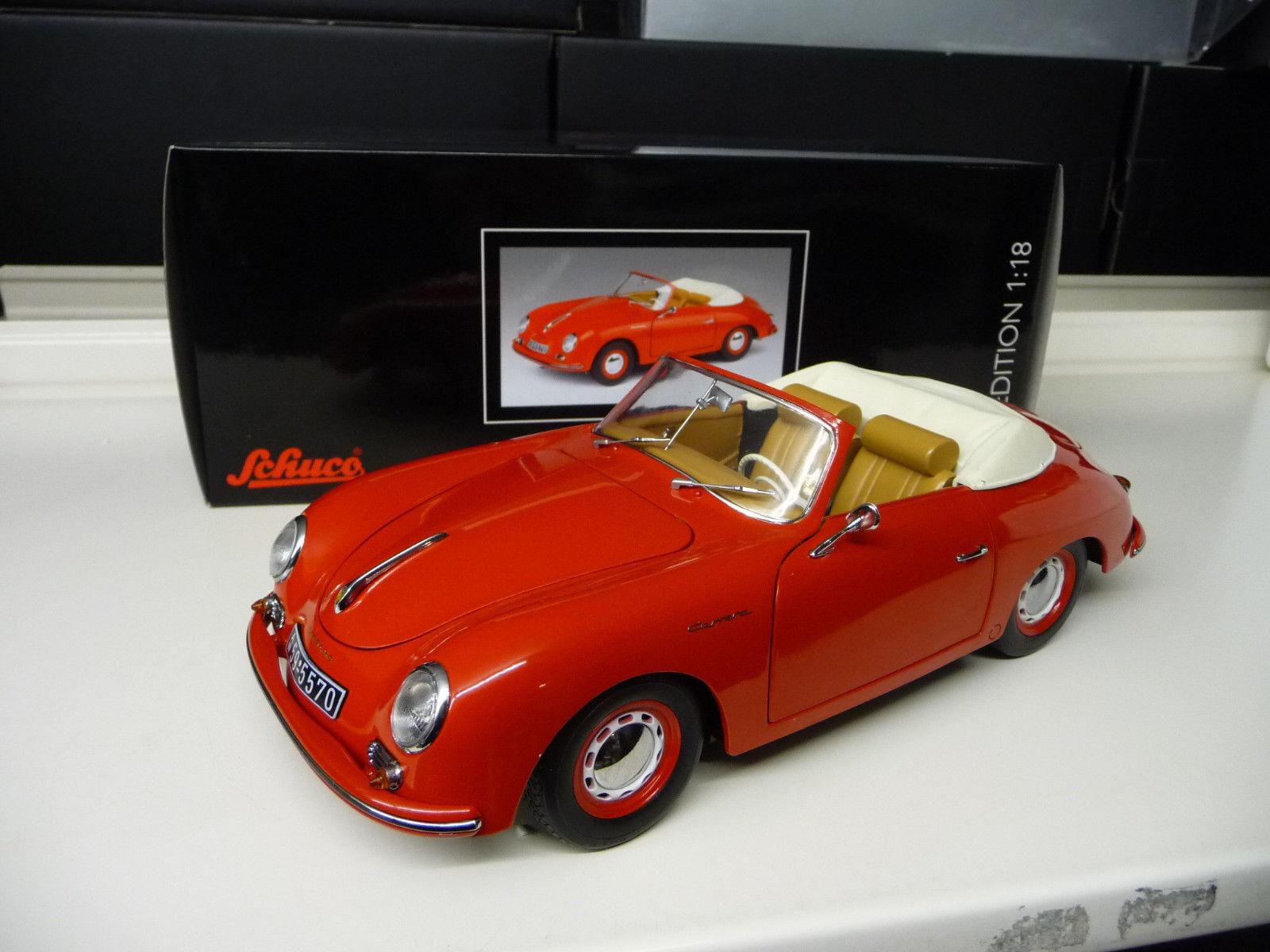ahorra hasta un 30-50% de descuento Porsche 356 Carrera Convertible Rojo Schuco    Envío Gratuito  ganancia cero