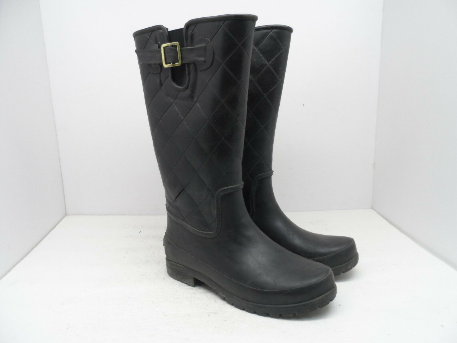 WINDRIVER Rain Women's Venice Rain WINDRIVER Boot Black Size 7M ae656d