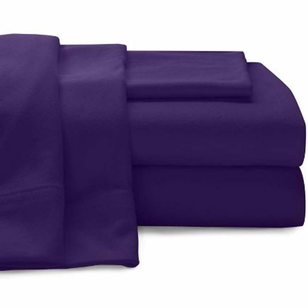Baltic Linen Super Soft 100 Percent Cotton Jersey Sheet Sets Lavender King Size