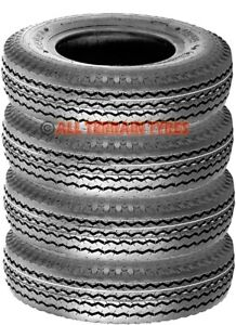 5.00-10 500-10 4 Ply Tubeless Trailer Tyres 5.00x10 500x10 500 5.00 10 72M