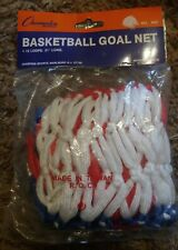"""Colors May Vary Champion Red White Blue USA Replacement Basketball Net 21/"""" 4mm"""