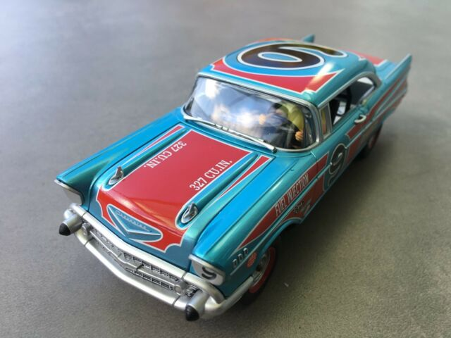 """Carrera Digital 132 30759 Chevrolet Bel Air '57 """" Ovale Racer """" Corps Chassis"""
