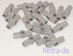 LEGO-Technik-20-x-Verbinder-Nr-2-180-Grad-hellgrau-32034-NEUWARE