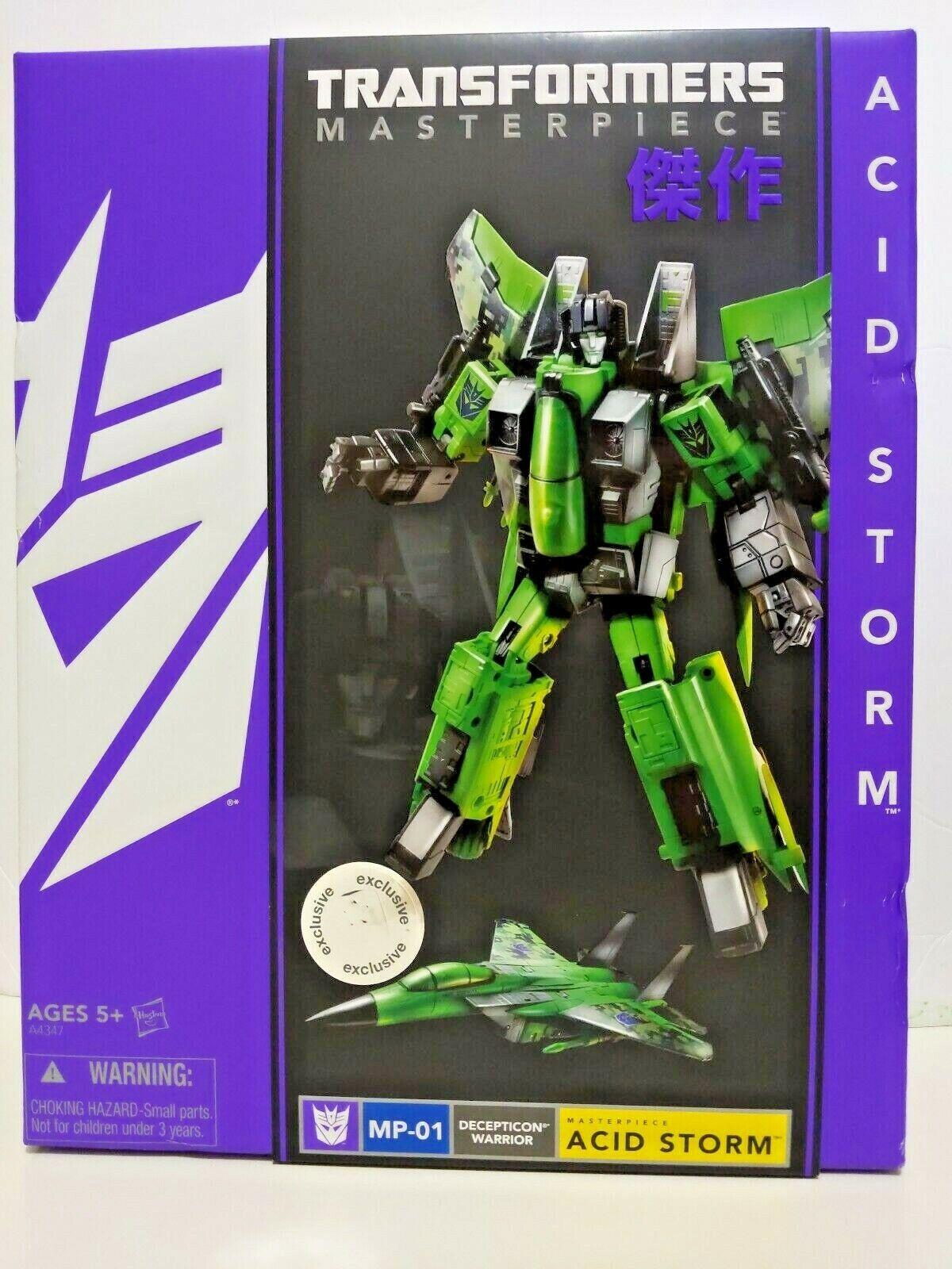 Transformers obra maestra ácido tormenta Tru Exclusivo