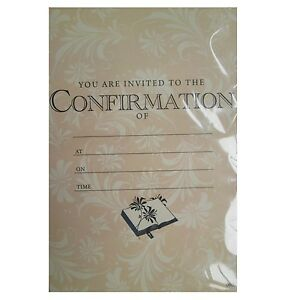 confirmation party invitations envelopes boy male girl female