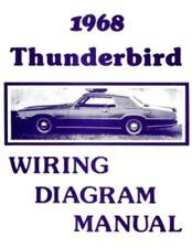 Ford 1955 Customline Fairlaine Thunderbird Wiring Diagram Manual Ebay