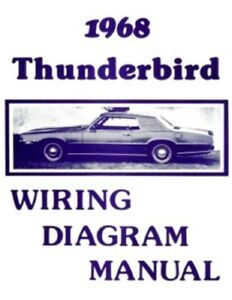ford 1968 thunderbird wiring diagram manual 68 ebay rh ebay com