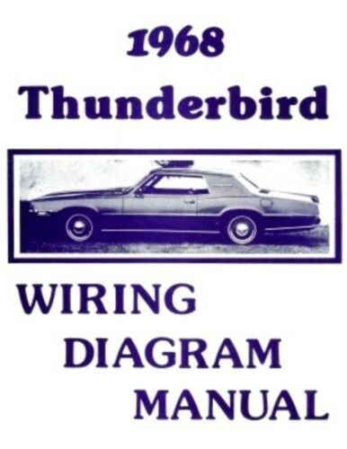 68 Thunderbird Wiring Diagram - Diagrams Catalogue