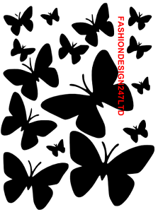 BUTTERFLY MYLAR STENCIL CRAFT HOME DECOR PAINTING WALL ART 125//190 MICRON