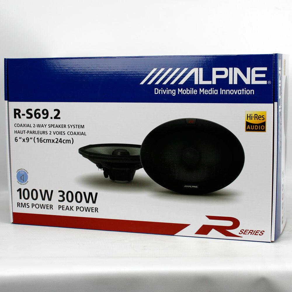 XFIRE XFR693 2-Way 6x9 Coaxial Speaker 125 Watt Rms 500w Max