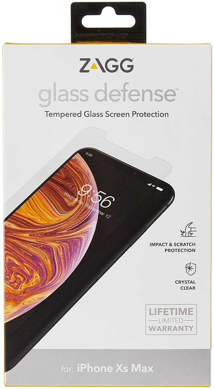 ZAGG InvisibleShield Glass Screen Protector Screen Protector HD Tempered Glass for the Apple iPhone XR /& InvisibleShield Glass high-definition Tempered Glass for the Apple iPhone XS//X