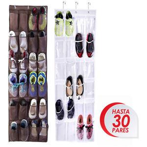1pcs-Zapatero-Organizador-Zapatos-Colgante-24-Pares-Estanteria-Detras-Puerta