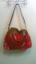 Spring & Summer Handbags / by BUENO ,/ Ladies huge shiney red carryall bag NWOT
