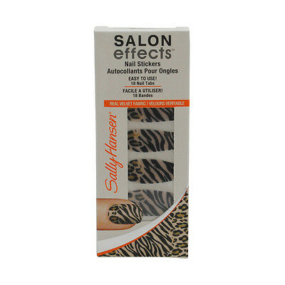 BUY 2 GET 2 FREE!!   Sally Hansen Salon Effects Nail Stickers [Choose Color]