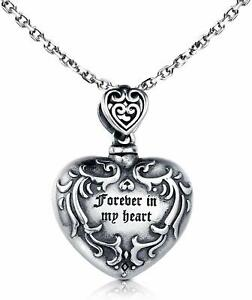 cremation jewellery sterling silver 925 ASHES PENDANT